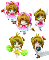 Cardcaptor Sakura PS Petit Chara Land: Release the Seal Figures