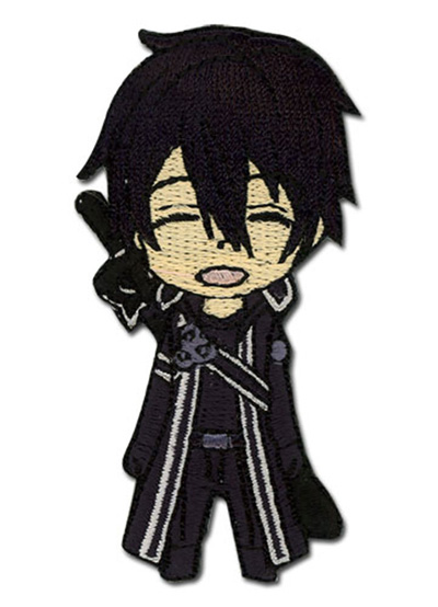 Sword Art Online Chibi Kirito Happy Patch