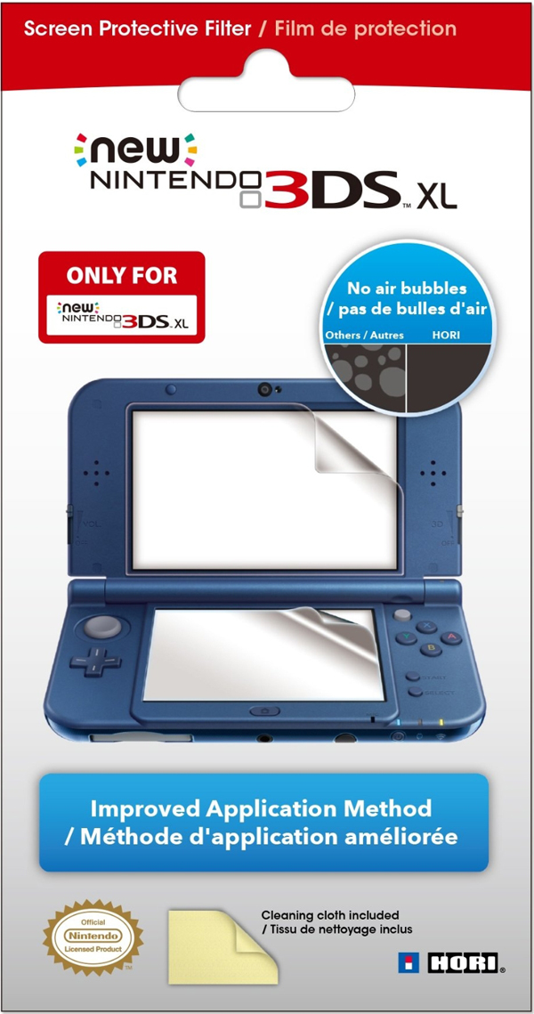 New 3DS XL Screen Protective Filter Hori