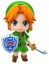 Legend of Zelda Majoras Mask 3D Link Nendoroid