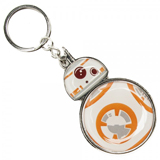 Star Wars 7 BB-8 Metal Keychain