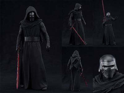 Star Wars Force Awakens Kylo Ren Statue