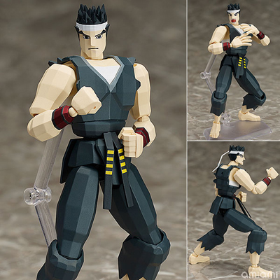 Virtua Fighter Akira Yuki Figma