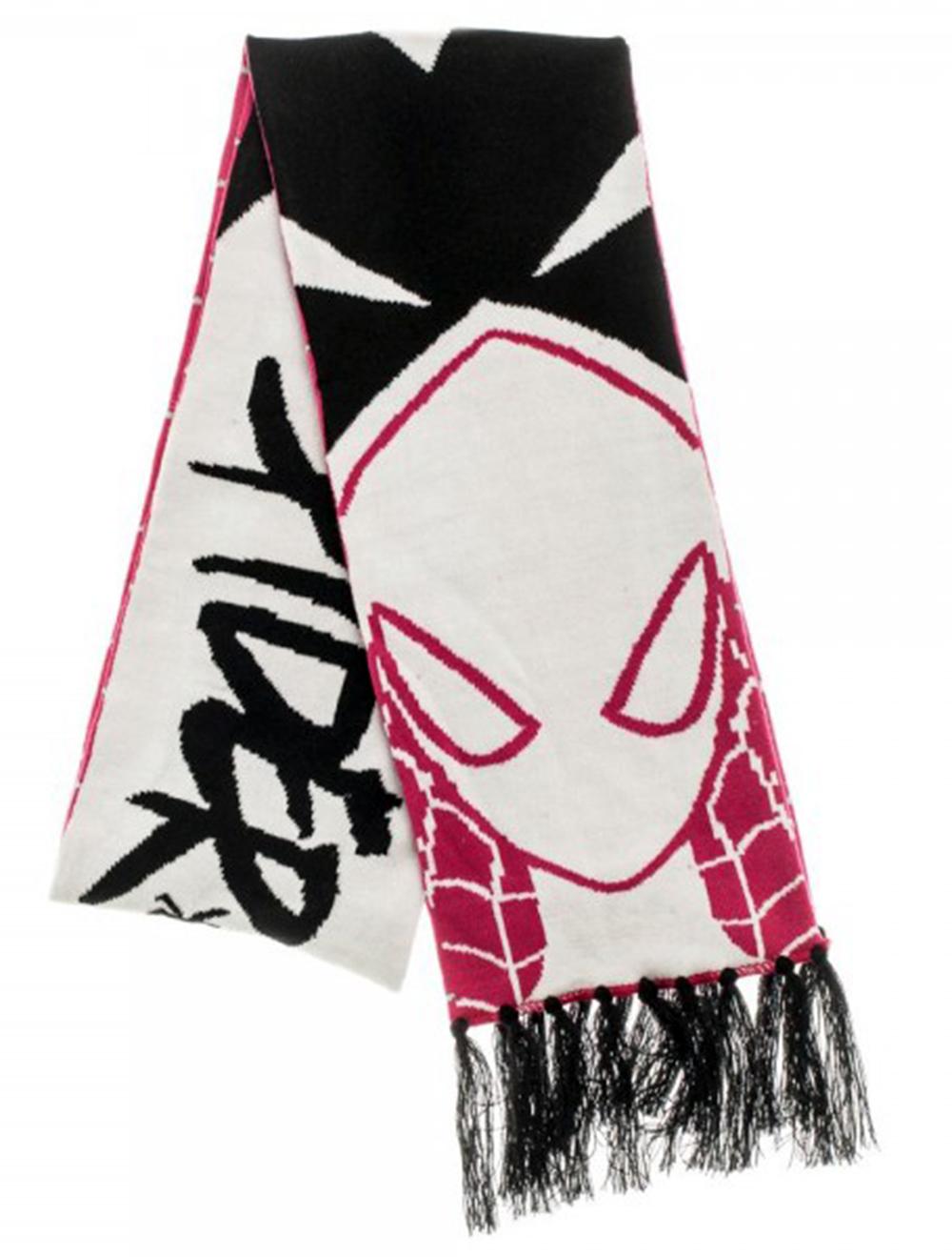 Marvel Spider Gwen Knit Scarf