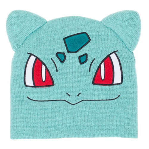 Pokemon Bulbasaur Big Face Knit Beanie