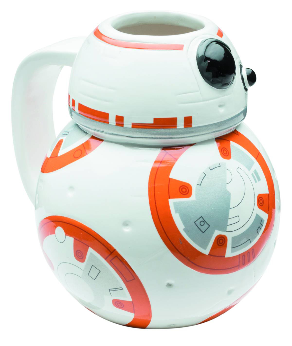 Star Wars E7 BB-8 Molded 12oz Ceramic Mug