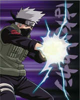Naruto Shippuden Kakashi LED Light Up Wall Canvas