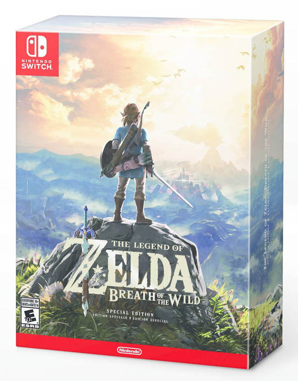 Legend of Zelda: Breath of the Wild Special Edition