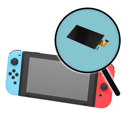 Nintendo Switch Repairs: LCD Replacement Service