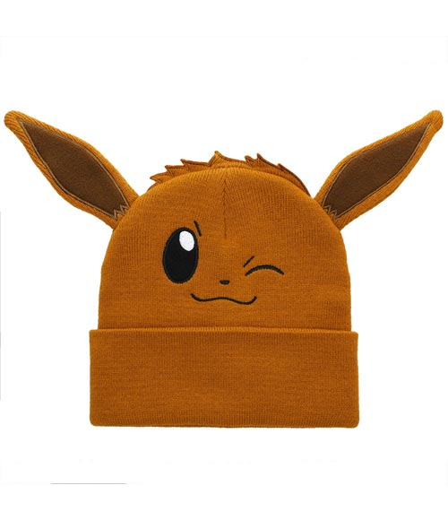 Pokemon Eevee Wink Big Face Beanie