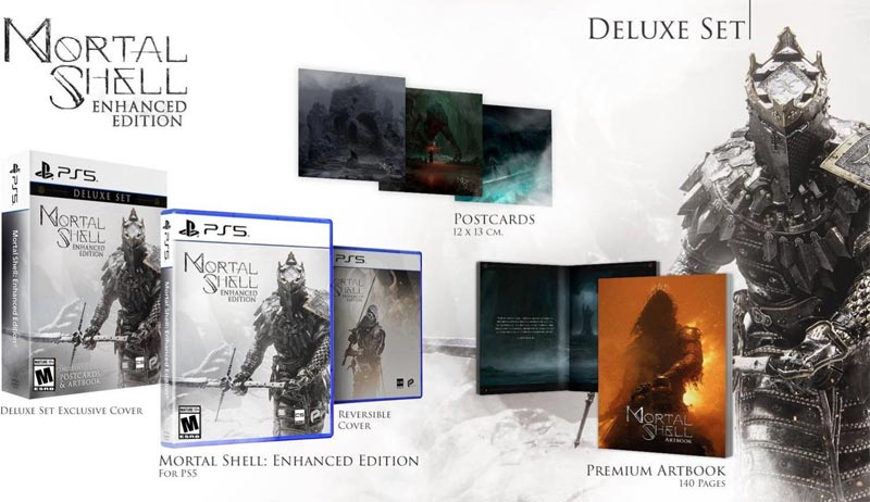 PS5 Mortal Shell Enhanced Edition Deluxe Set all items