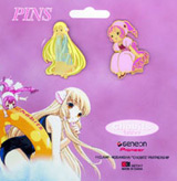 Chobits Cloisonne Pin Set