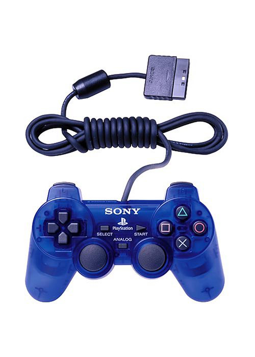 PS2 DualShock 2 Controller Ocean Blue By Sony