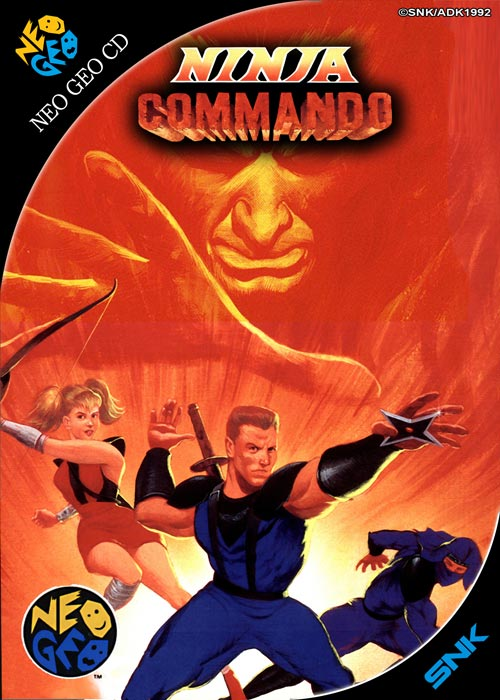 Ninja Commando Neo Geo CD