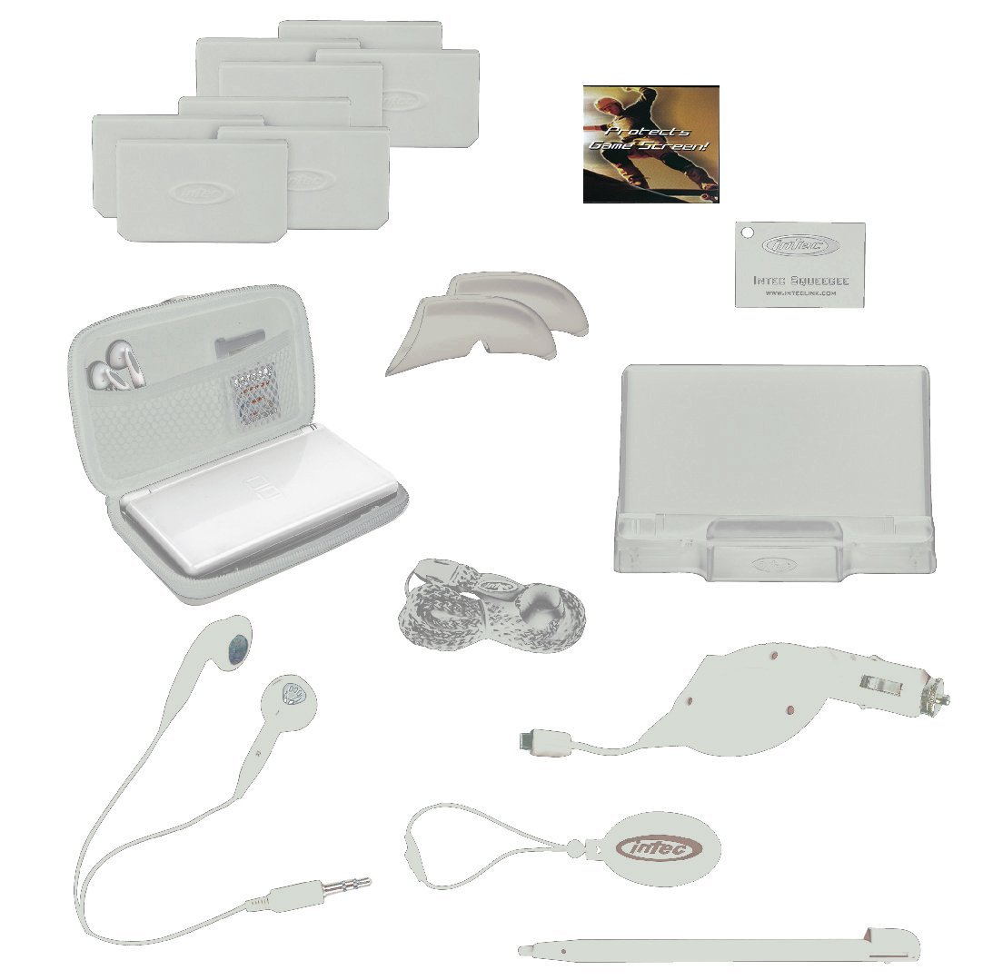 Nintendo DS Lite 18 in 1 Starter Kit by Intec