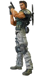 Resident Evil 5 Play Arts Kai Chris Redfield Action Figure