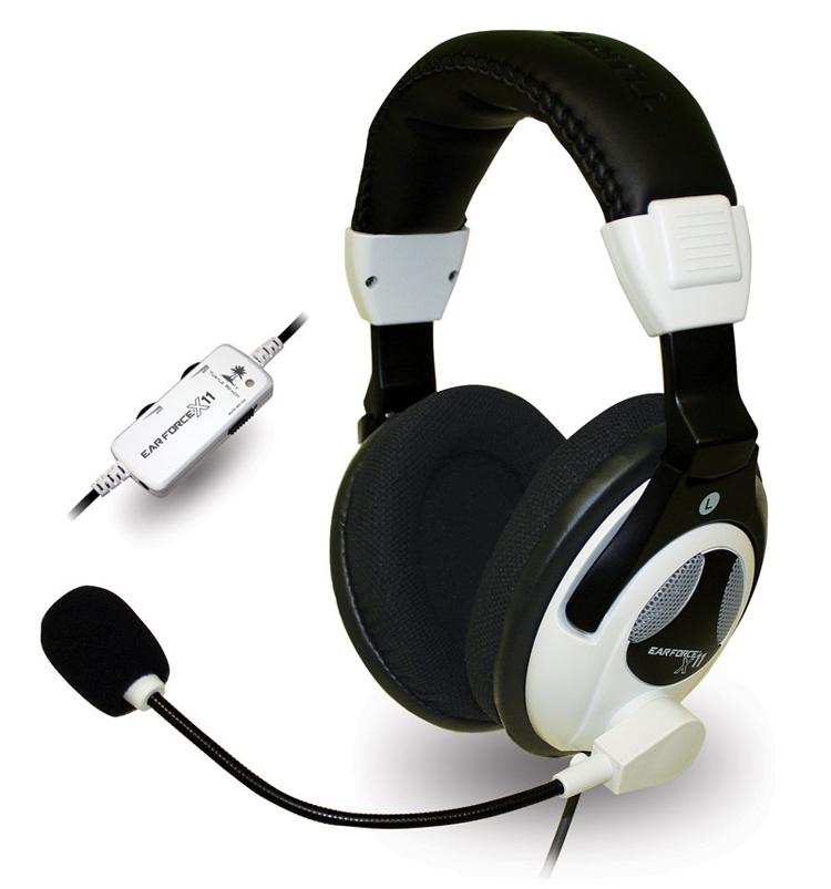 Xbox 360 Turtle Beach Ear Force X11 Gaming Headset