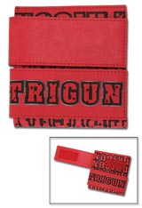 Trigun Logo with Crossed Guns Tri-fold Wallet
