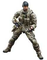 Medal of Honor: Warfighter Play Arts Kai Preacher Action Figure
