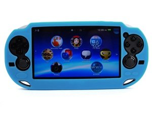 PlayStation Vita Soft Silicone Case Light Blue