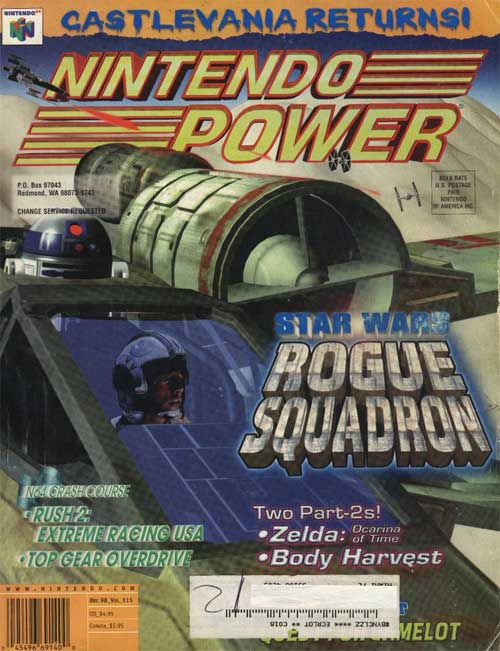 Nintendo Power Volume 115 Star Wars: Rogue Squadron
