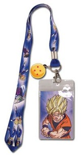 Dragon Ball Z Lanyard: SS Goku 4-Star Dragon Ball