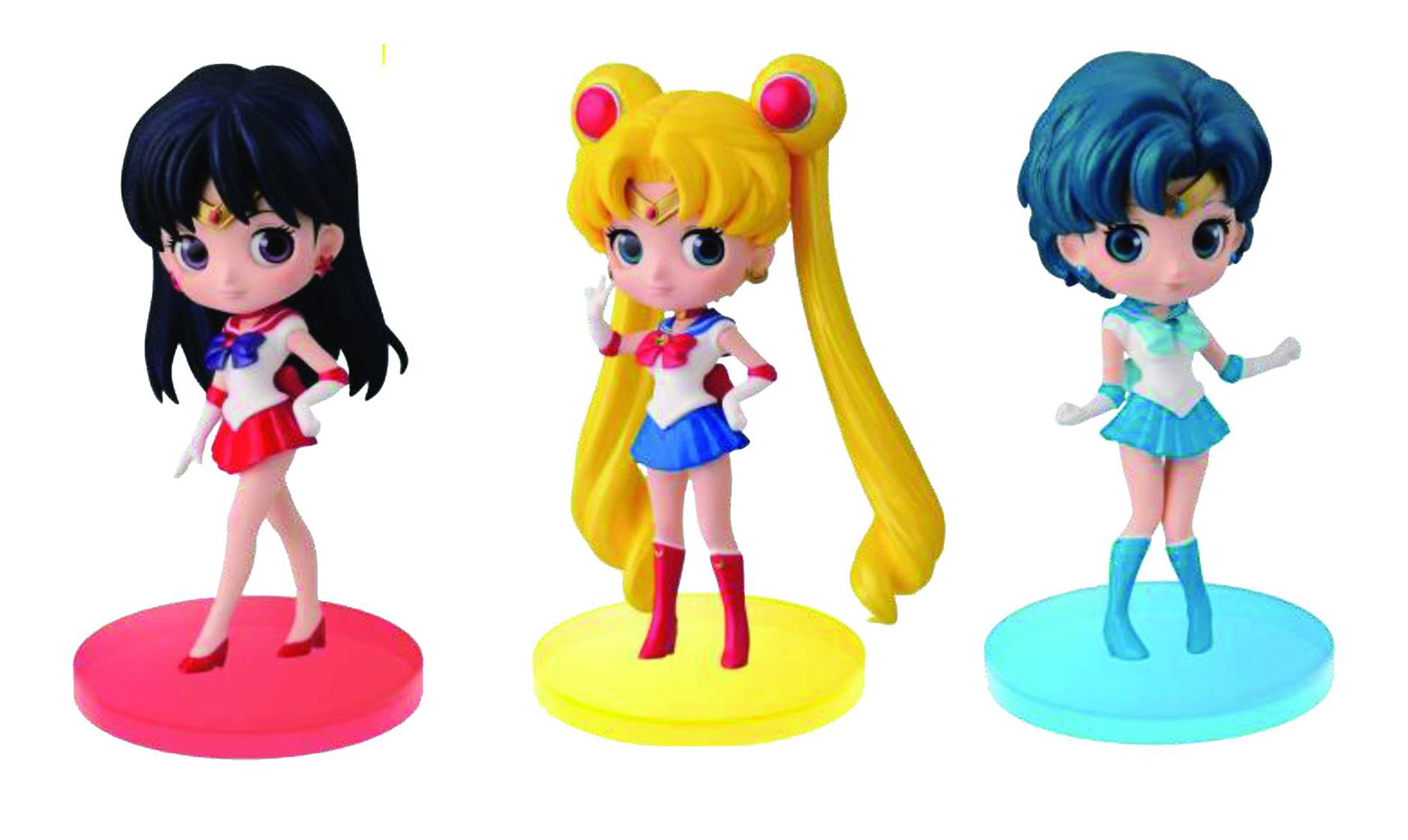 Sailor Moon Q-Posket-Petit-Volume 1 Sailor Moon Figures