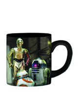 Star Wars E7 The Droids 14oz Ceramic Mug