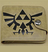 Legend of Zelda Triforce Logo Wallet Tan