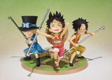 One Piece Luffy, Ace & Sabo Figuarts Zero Brothers Version