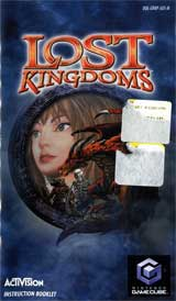 Lost Kingdoms (Instruction Manual)