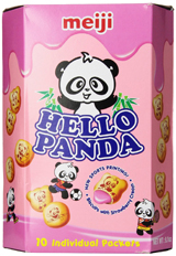Hello Panda Strawberry Cream Filled Biscuits 9.1oz