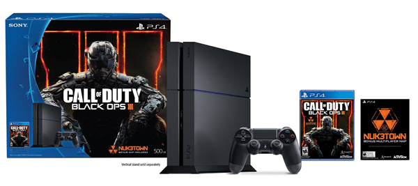Sony Playstation 4 500GB Call of Duty Black Ops III Bundle