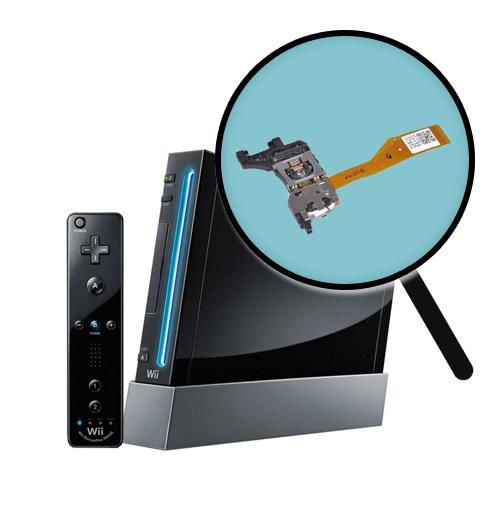 Nintendo Wii Repairs: Laser Pickup Replacement Service