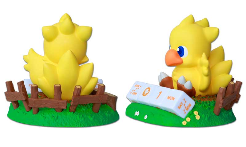 Final Fantasy Chocobo Perpetual Calendar other angles