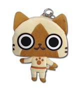 Monster Hunter Airou 7 Inch Plush Coin Purse