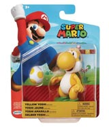 World of Nintendo Yellow Yoshi Action Figure