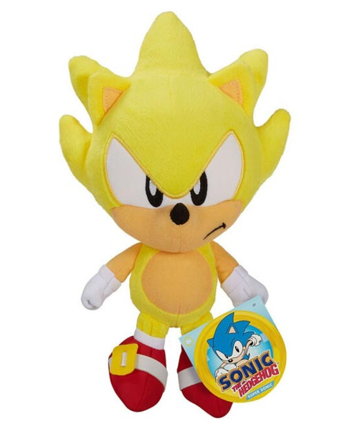 Sonic the Hedgehog: Super Sonic 7 Inch Plush