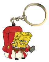 SpongeBob SquarePants 'Ight I'm Gonna Head Out Keychain