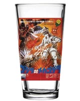 Godzilla vs Mechagodzilla 1974 Movie Poster Pint Glass