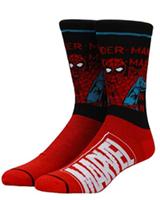 Marvel Classic Heroes Split Colorblock Crew Socks 5 Pack