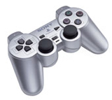 PS2 Controller Satin Silver By Sony