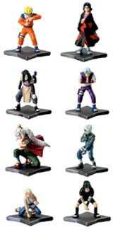 Naruto R Full Color Capsule Toys