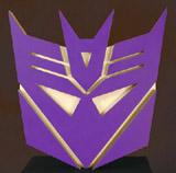 Transformers: Decepticon Logo Wall Plaque