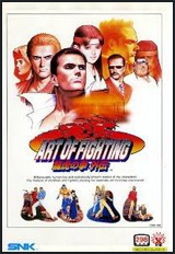 Art of Fighting 3 Neo Geo AES