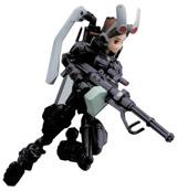 Busou Shinki Series 2 MMS Type Rabbit Waffebunny Figure
