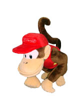 Nintendo Diddy Kong 6 Inch Plush