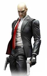 Hitman: Absolution Play Arts Kai Agent 47 Action Figure