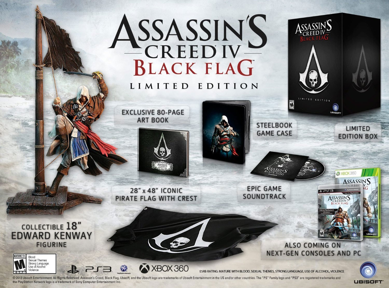 Assassin's Creed IV: Black Flag Limited Edition for Xbox One