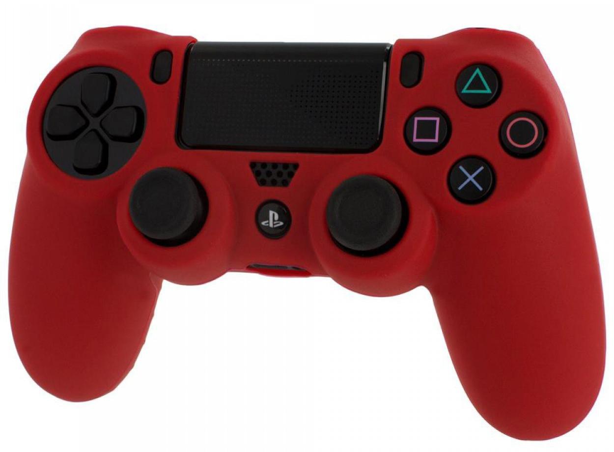 PS4 Controller Silicone Sleeve Red